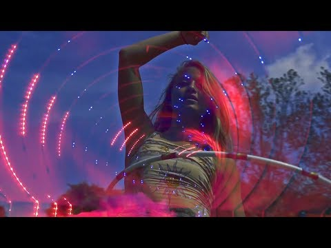 Psychedelic Trance mix November 2018 [ Fire Poi/Hula Hoops]