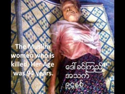 Xxx Mp4 Muslim Rohingya Woman 94 Age Shaheed In Arakan State By Burma Rakhine Buddhist Fanatic Terrorists 3gp Sex