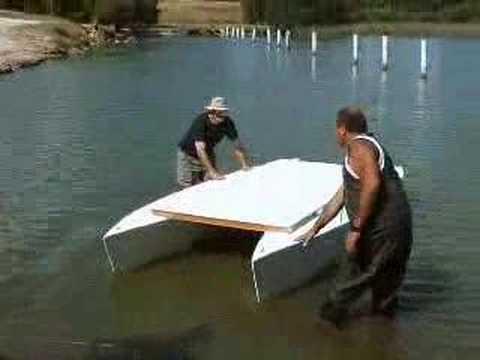 My Stitch & Glue Pontoon Boat