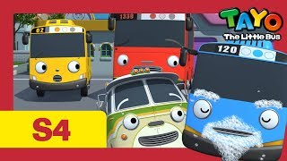 ⭐Tayo S4 #23⭐A day with Buba l Tayo the Little Bus l Season 4 Episode 23