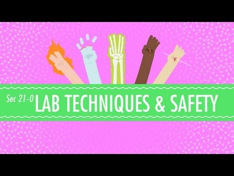 Lab Techniques & Safety Crash Course Chemistry 21