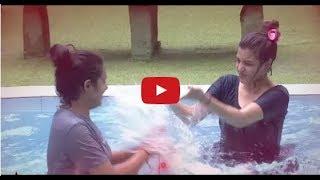 Latest episode Bigg Boss Telugu  Dhanaraj Swimming Lessons with Deeksha Archana