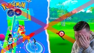 I MISSED AN UNOWN IN POKEMON GO! *NEW SERIES* Battling Through Boston! Pokemon Go in Boston #2