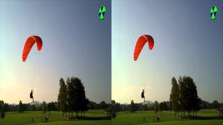 Paragliding 3D HD Stereoscopic Video