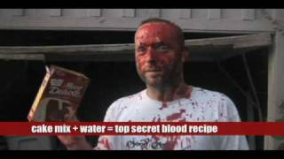 Blood and Gore Fx #1: How to make fake blood low budget filmmaking