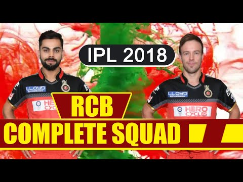 Xxx Mp4 IPL Auction 2018 RCB Team 2018 Royal Challengers Bangalore COMPLETE SQUAD With Price वनइंडिया 3gp Sex