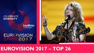 EUROVISION 2017 | TOP 26 (before the grand final)