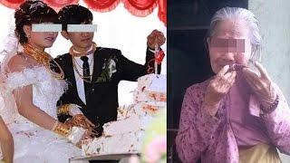 Mẹ nghèo lẻn vào đám cưới để trao 2 chỉ vàng cho con gái và cái kết nghẹn đắng