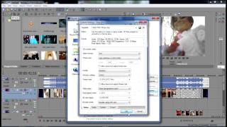 24fps Best Render settings for mp4, Bluray, DVD in Sony Vegas Pro