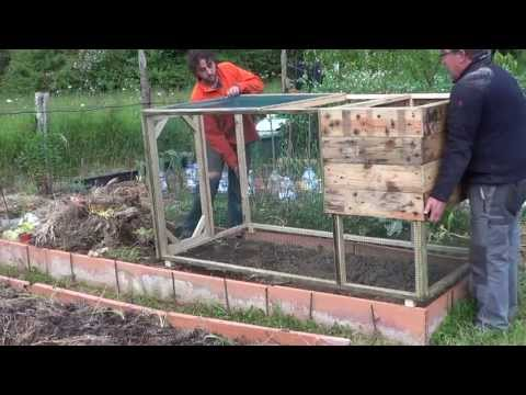 How To Make A Chicken Coop With Pallets Model SiSi The Huertina De Toni