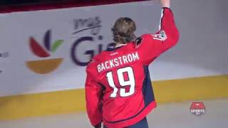 Backstrom presented with a Golden Stick