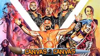 The Superstars of NXT hit the ring!: WWE Canvas 2 Canvas