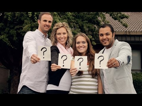 GENDER REVEAL for Sisters both having TWINS
