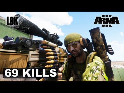 ONE MAN ARMY - 69 Kills - Arma 3 - King of the Hill