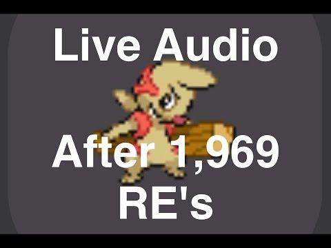 [ISHC] (Live Audio!!!) Shiny Timburr in Pokemon White #2 after 1,969 Re's