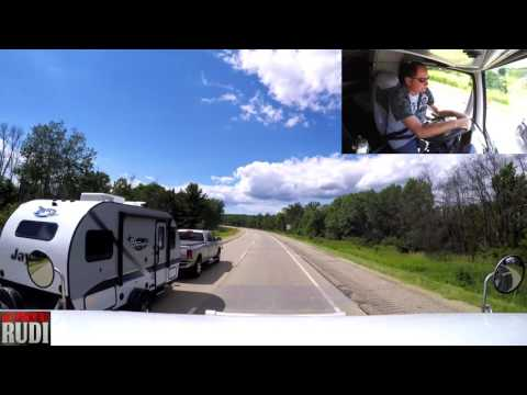 It's a nice day for a drive TRUCKER RUDI 06/24/17 Vlog#1110