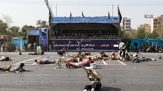 At least 24 killed in attack on Iran military parade