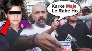 Angry Vishal Dadlani SLAMS A Person At Asifa Justice Protest In Mumbai