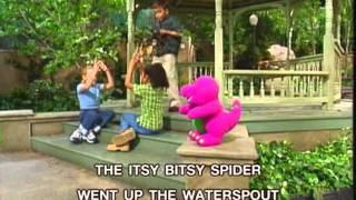 Barney - Itsy-Bitsy Spider Song