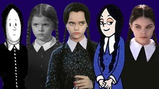 The Many Faces of Wednesday Addams