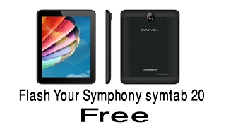 How to flash Symphony Symtab 20 100% working