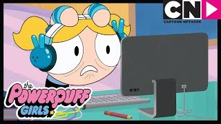 Powerpuff Girls | Bubbles Learns To Code | Cartoon Network