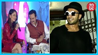 Kareena On Saif-Soha's Conversations | Ranveer Upsets Vidhu Vinod Chopra