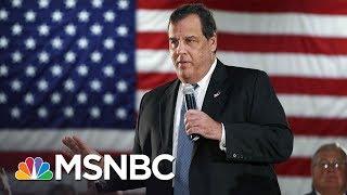 Governor Chris Christie Closes NJ Parks, But Still Hits The Beach   MSNBC