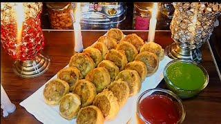 Aloo Samosa/Bhakarwadi Recipe /Gujarati Samosa/Cutlets/Bhakarwadi/Samosa Pinwheel /Samose/Snacks