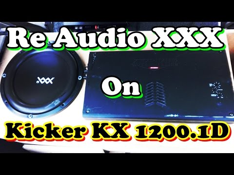 Demo Re Audio XXX 12 con Kicker Kx 1200 1