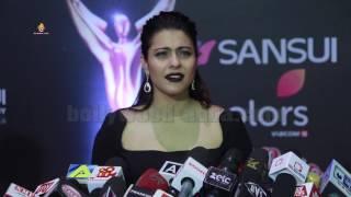 Actress Kajol Special Red Carpet Walk At Sansui Colors Stardust Awards 2017 HD