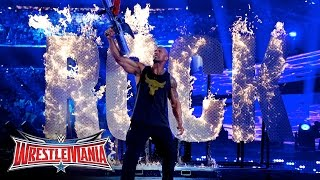 The Rock returned to WWE: WrestleMania 32 on WWE Network