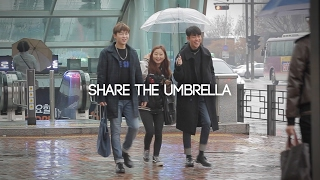 JAYKEEOUT : Share the Umbrella Experiment in Korea