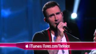 R  City and Adam Levine   Locked Away    The Voice 2015