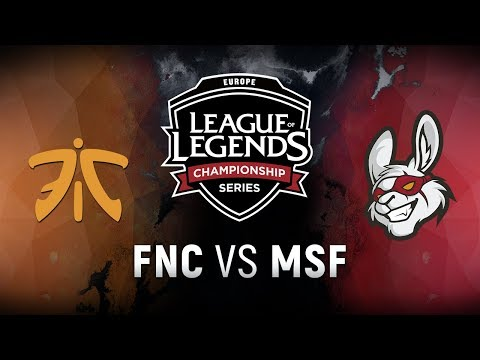 Xxx Mp4 FNC Vs MSF Week 3 Day 1 EU LCS Spring Split Fnatic Vs Misfits Gaming 2018 3gp Sex