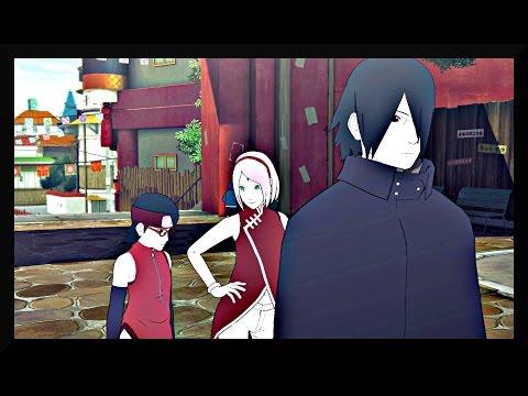 Sasuke and Sakura Moments from Road to Boruto and Naruto Shippuden Ultimate Ninja Storm 4