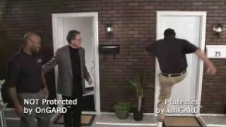 Security Door Brace   Door Wedge   Real Time Demo of The OnGARD Door Brace /