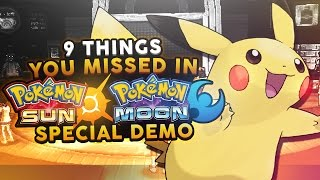 9 Things You Might Have Missed In The Pokemon Sun and Moon Special Demo - Woopsire