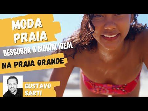 Super Praia da Moda com Gustavo Sarti Programa do Gugu na Praia Grande Parte 2