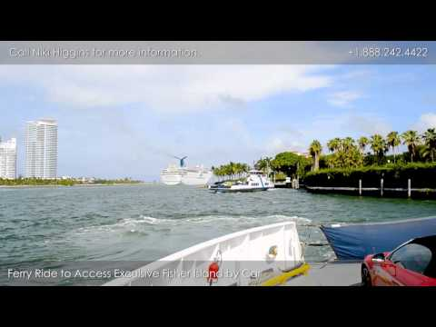 Xxx Mp4 Driving Tour Of Fisher Island Ferry Ride To The Island 3gp Sex