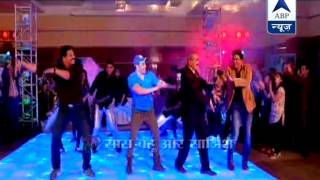CID team dances with Salman Khan