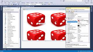 Create random numbers and images in c#