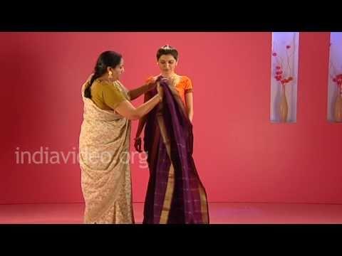Marwari Saree In Maharashtrian Style - Tutorial
