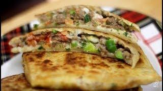 Fatayer          المطبق اليمني بطريقة مبسطة جدا / طريقة عمل المطبق