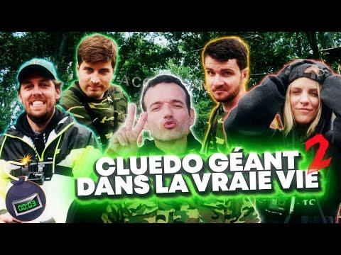 CLUEDO GEANT DANS LA VRAIE VIE 2 avec Amixem Pierre Croce Emy Ltr et Doc Seven
