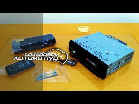 Como Instalar CD DVD Player de Som Automotivo Rádio no carro