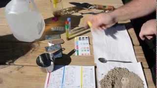 Soil Test - pH and NPK Nitrogen Phosphorus and Potassium