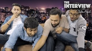 Gaan Friendz takes over the show! - The Interview w/ ChotoAzad
