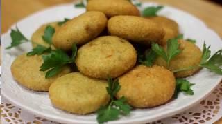كبة مقلية بكوب برغل | اسهل وصفات الكبة المقلية - فطورنا عراقي Fried Kobah