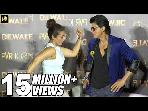 Xxx Mp4 Shahrukh Khan Kajol S FUNNY Poses At Dilwale Manma Emotion Jaage Song Launch 3gp Sex